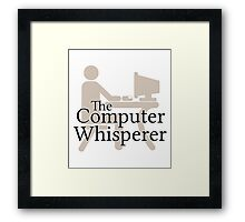 The Computer Whisperer Framed Print