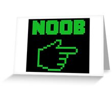 I'm With The Noob Newbie Greeting Card
