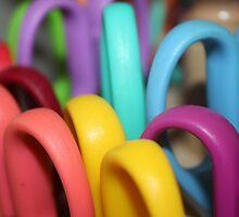Rainbow Scissors  by JupiterHadley