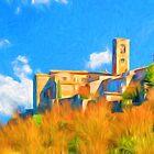 Colle Di Val D'Elsa, Tuscany, Italy by Corina Daniela Obertas