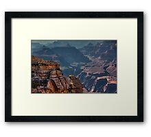 Grand Canyon, Mather Point, Arizona Framed Print