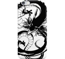 Black Dragon (1 color) iPhone Case/Skin