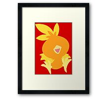 Happy Torchic Framed Print
