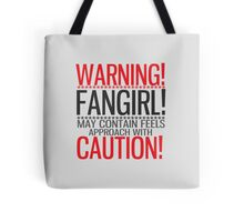 WARNING! FANGIRL (II) Tote Bag
