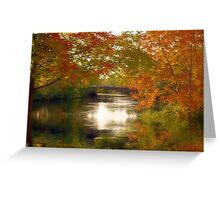 Fall Afternoon Greeting Card