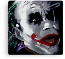 The Joker Canvas Canvas Print
