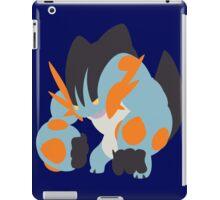 Lifting Mega Swampert iPad Case/Skin