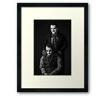The Jokers Black Framed Print