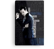 Jim Moriarty Metal Print