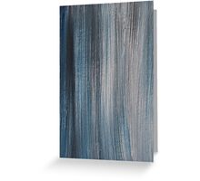 Blue shades Greeting Card