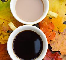 Fall Coffee II by Kayleigh Morin