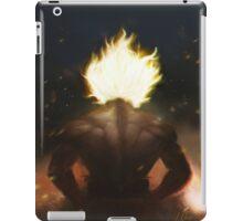 Goku's Aesthetic Back iPad Case/Skin