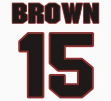 NFL Player Justin Brown fifteen 15 by imsport