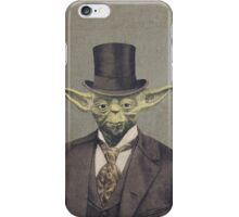 Sir Yodington  iPhone Case/Skin