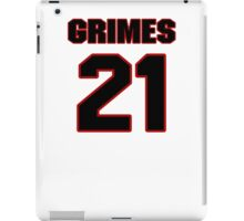 NFL Player Brent Grimes twentyone 21 iPad Case/Skin