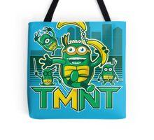 Teenage Minion Ninja Turtles Tote Bag