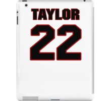 NFL Player Jamar Taylor twentytwo 22 iPad Case/Skin