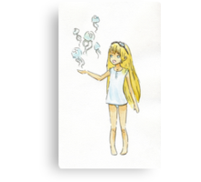 Jellyfish Girl Canvas Print