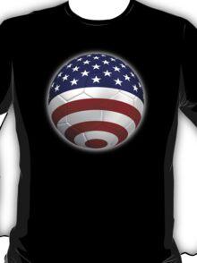 USA - American Flag - Football or Soccer 2 T-Shirt