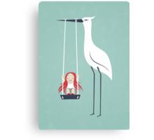 Swings Canvas Print