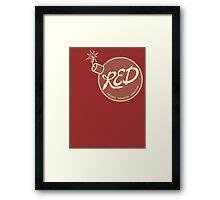 Red Team - Reliable Excavation Demolition Framed Print