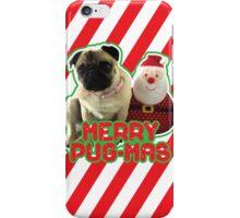 Merry Pug-mas iPhone Case/Skin