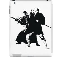 Yojimbo - Toshiro Mifune - Akira Kurosawa Film - Black and White Version - Great Gift for Fans of Classic Japanese Films iPad Case/Skin