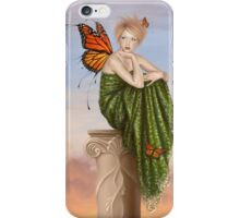 Sunrise Monarch Butterfly Fairy iPhone Case/Skin