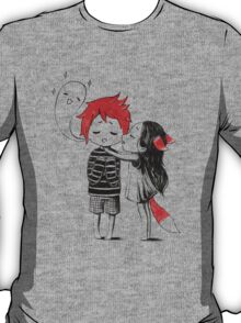 Boy and a fox T-Shirt