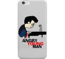 ANGRY YOUNG MAN iPhone Case/Skin