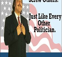 Ron Jeremy - Politician by Sparkalicious
