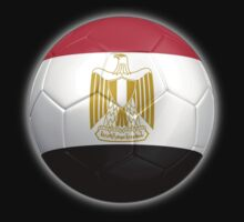 Egypt - Egyptian Flag - Football or Soccer 2 by graphix