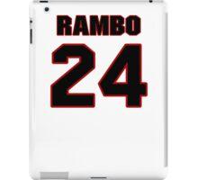 NFL Player Bacarri Rambo twentyfour 24 iPad Case/Skin