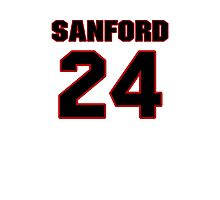 NFL Player Jamarca Sanford twentyfour 24 Photographic Print