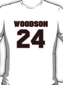 NFL Player Charles Woodson twentyfour 24 T-Shirt