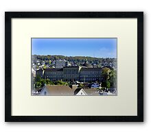Zurich University  Framed Print