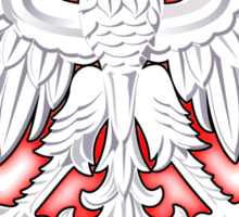 Poland - Polish Coat of Arms - White Eagle Sticker