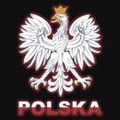 Polska - Polish Coat of Arms - White Eagle by graphix