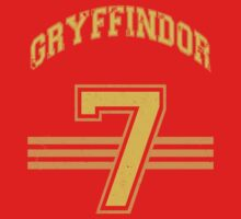 GRYFINNDOR Potter Jersey Kids Clothes