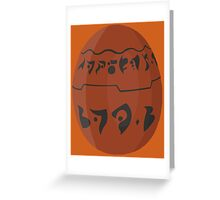 Jak and Daxter - Precursor Orb Greeting Card