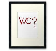 What Color? psycho pass shirt Framed Print