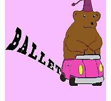 THE BALLET! Photographic Print
