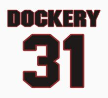 NFL Player James Dockery thirtyone 31 T-Shirt