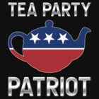 Tea Party Patriot - Republican Teapot by graphix