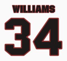 NFL Player DeAngelo Williams thirtyfour 34 T-Shirt
