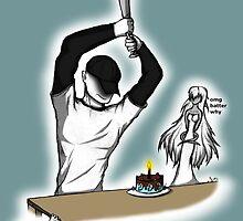 Birthday in Progress by Scaryfox14