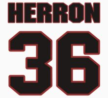 NFL Player Dan Herron thirtysix 36 by imsport