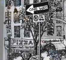 NYC - The fun of exploring Manhattan Sticker