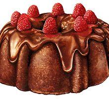 Chocolate Bundt Cake by Kelly  Gilleran