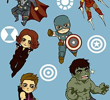 Avengers by Littleartbot
